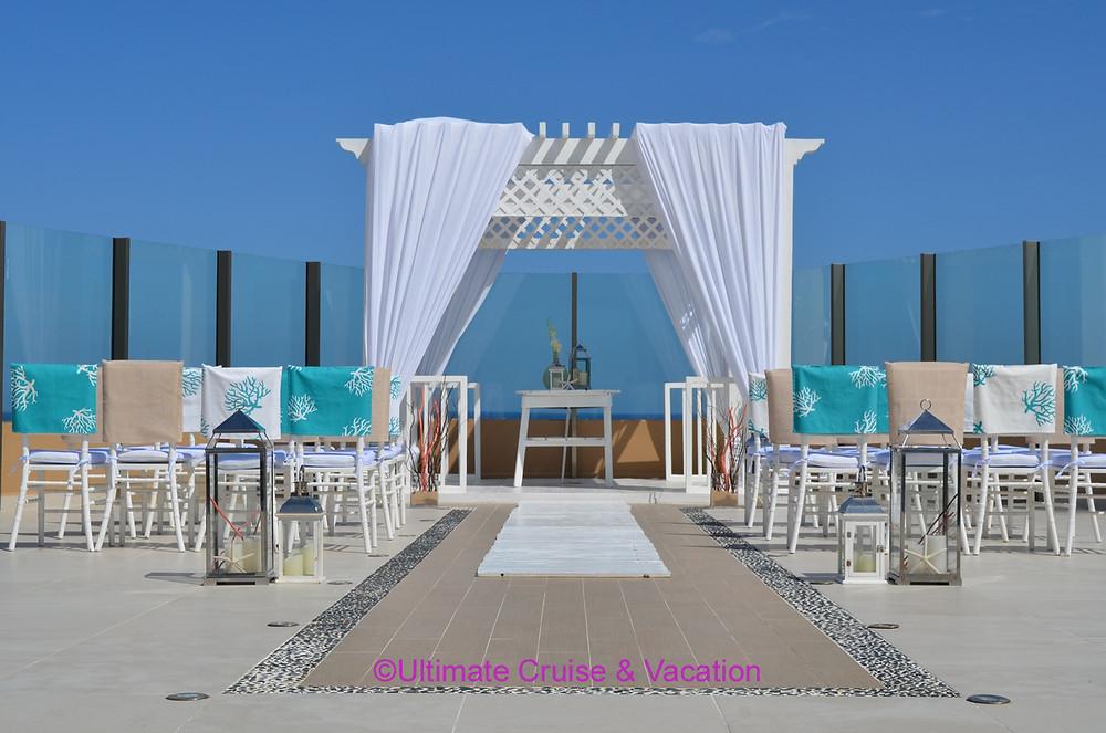Sky Wedding at El Dorado Seaside Suites