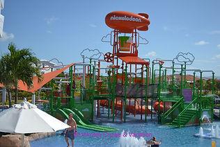 Aqua Nick overview, Nickelodeon Punta Ca
