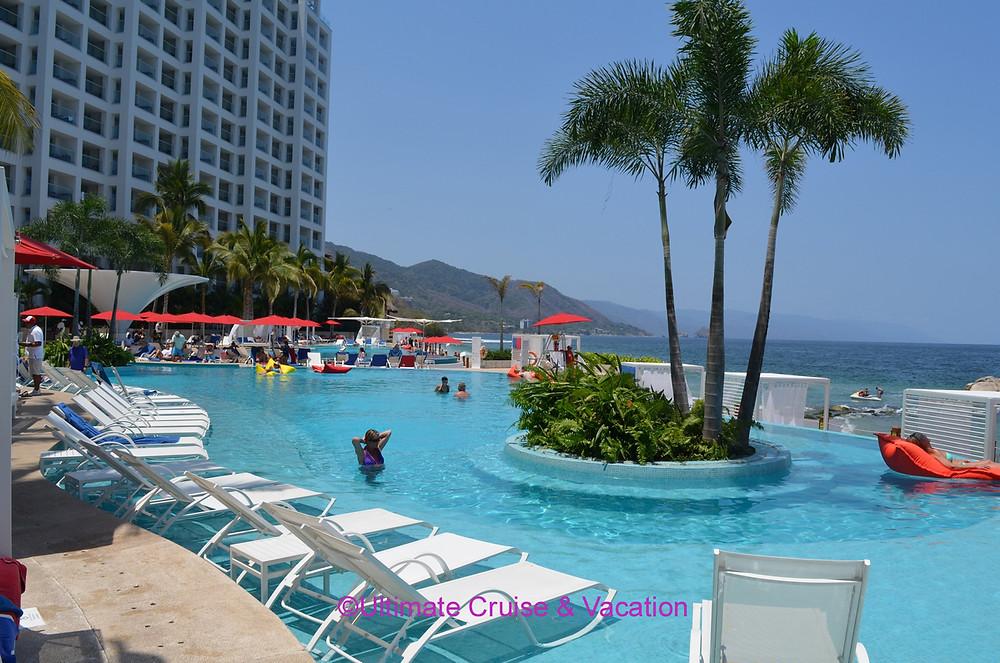 Pool area Grand Fiesta Americana Puerto Vallarta