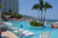 Fabulous pool area at Grand Fiesta Americana Puert Vallarta