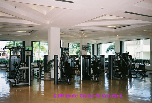 Fitness Center at Moon Palace Cancun