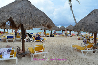 The beach at Iberostar Paraiso Maya