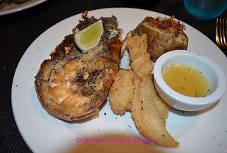 Lobster Dinner at Lobster House, Excellence El Carmen