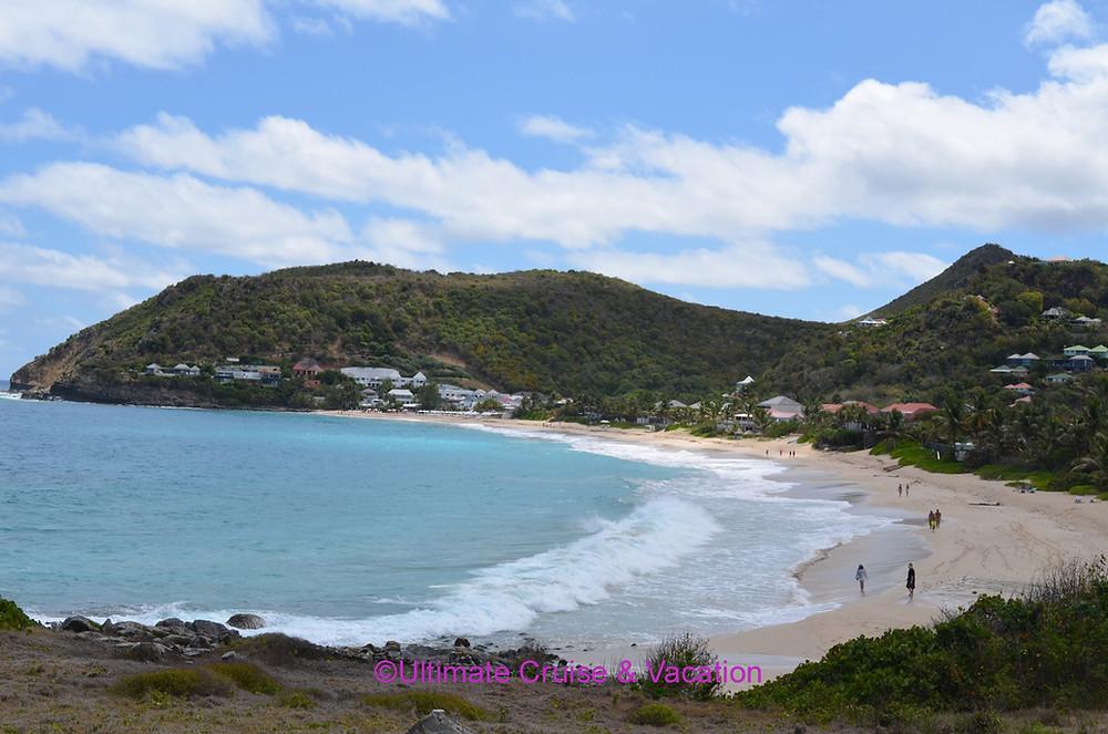 St Bart's beach