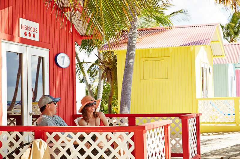 Princess Cays Private Air-conditioned Bungalows for rent
