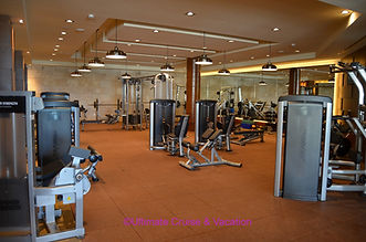 Fitness Center at Hyatt Ziva Cancun