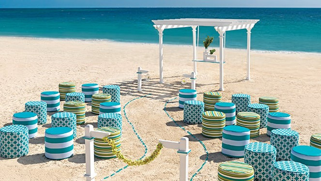 Seaglass Wedding by Hard Rock Hotels