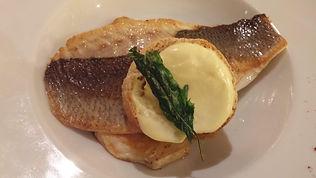 Seafood dinner at AmphorA, Windstar's St