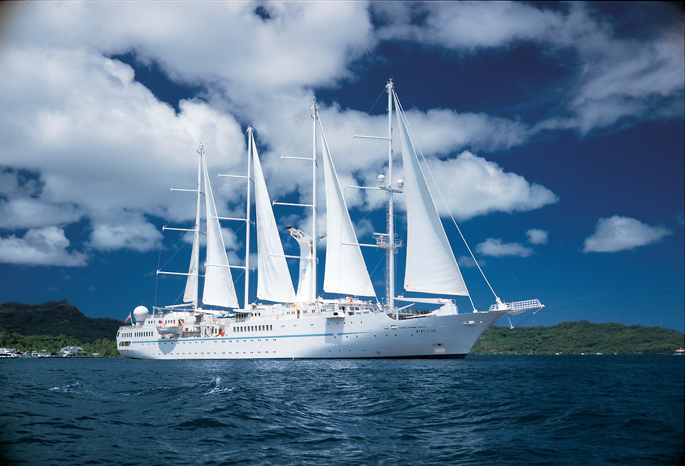 Wind Spirit in Grenada.