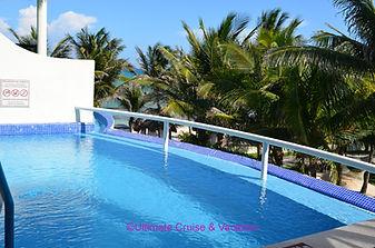 Private Pool 2nd floor at El Dorado Cast