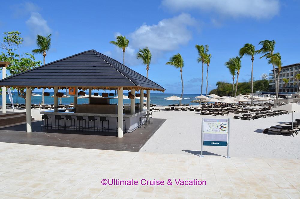 Beach area, Royalton St Lucia