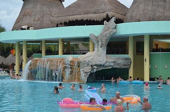 Pool & Swim-up Bar, Iberostar Paraiso Maya