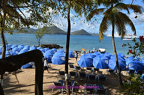 Windstar Private Event setup on St. Lucia