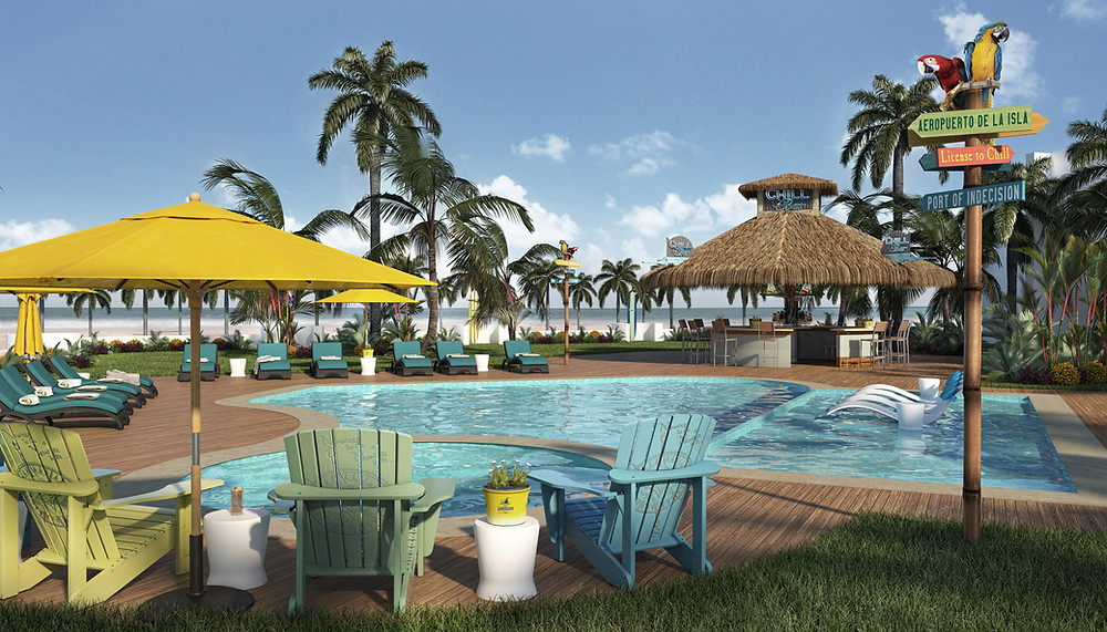 License To Chill Bar, Margaritaville Island Reserve Riviera Cancun