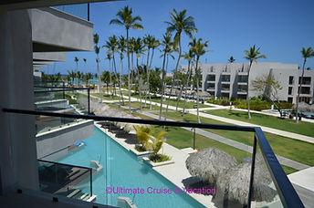 Junior Suite Ocean View balcony view, Excellence El Carmen