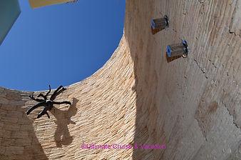 Private Outdoor shower at El Dorado Casi