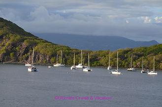 Sailboats isles des Saintes, Guadeloupe