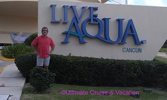 Ultimate Vacation's Jay French at Live Aqua Cancun
