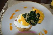 Eggs Benedict @ Tradewinds, Hyatt Ziva Cancun