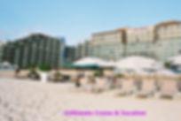 Beach looking toward Hard Rock Hotel Cancun
