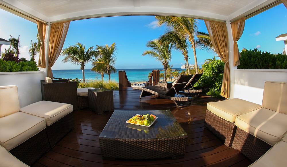 Cabana @ Great Stirrup Cay, Norwegian Cruise Line private island