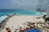 Balcony view frm Turquoise Adult-Only section @ Hyatt Ziva Cancun