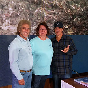Jay and Carol with WyLAND on Norwegian B