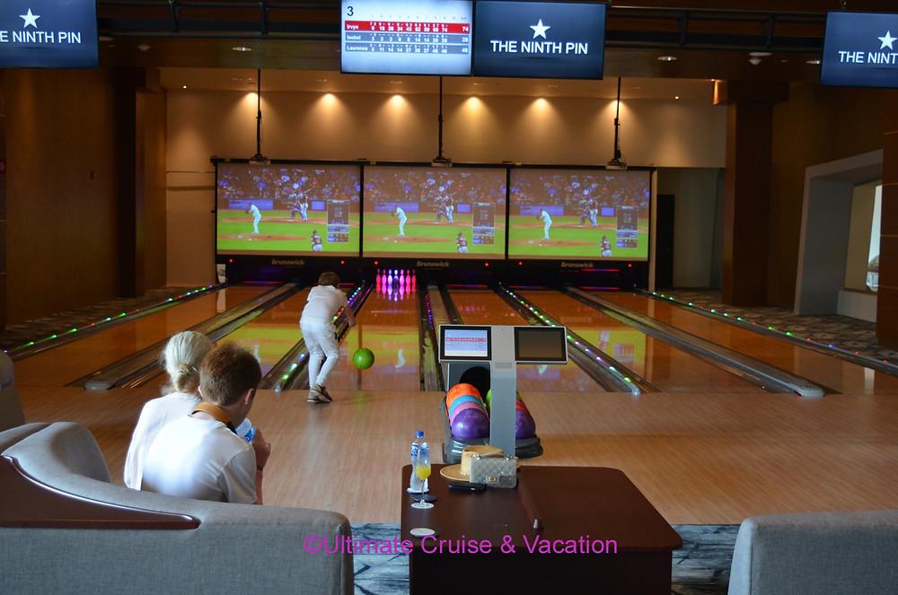 Bowling alley at The Grand at Moon Palace