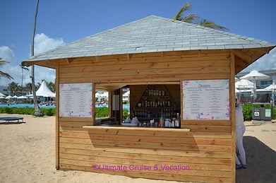 Beach Bar, Nickelodeon Punta Cana