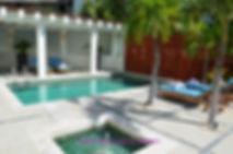 Naay Spa outdoor area, El Dorado Royale.