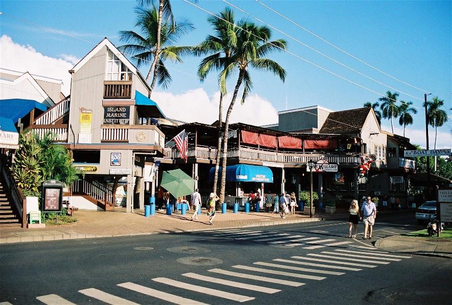 Lahaina town. Maui Hawaii