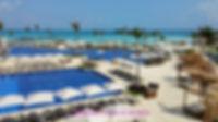Pool area at Hyatt Ziva Cancun
