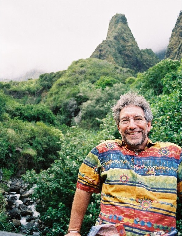 Jay French at Iao Valley State Monument. Maui, Hawaii