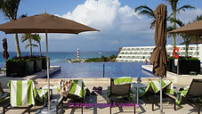 Adult-Only pool at Hyatt Ziva Cancun