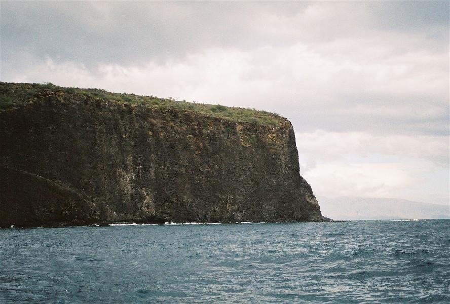 Molokai cliffs. Maui, Hawaii