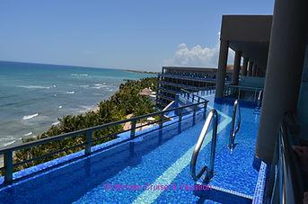 Oceanfront Honeymoon Top Floor balcony v