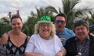 Mix 93's Rocket, Teresa, Steve and loyal