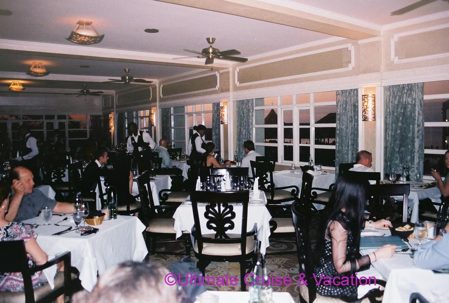 Valentino's restaurant, Sandals Ochi
