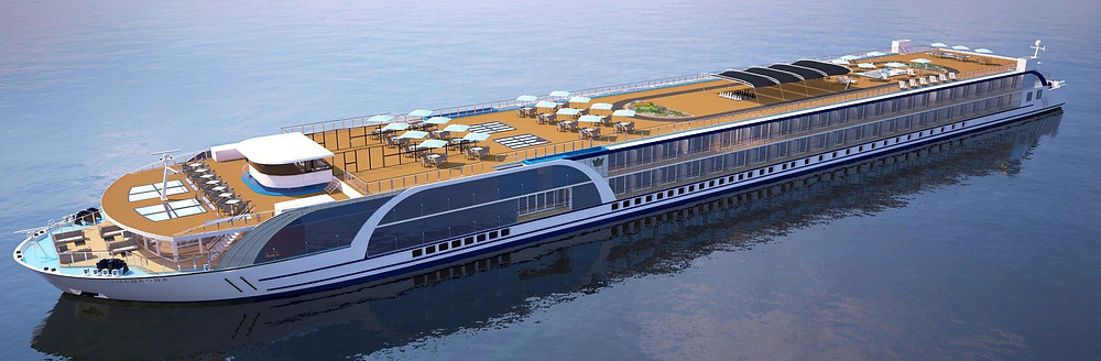AmaMagna from Ama Waterways rendering