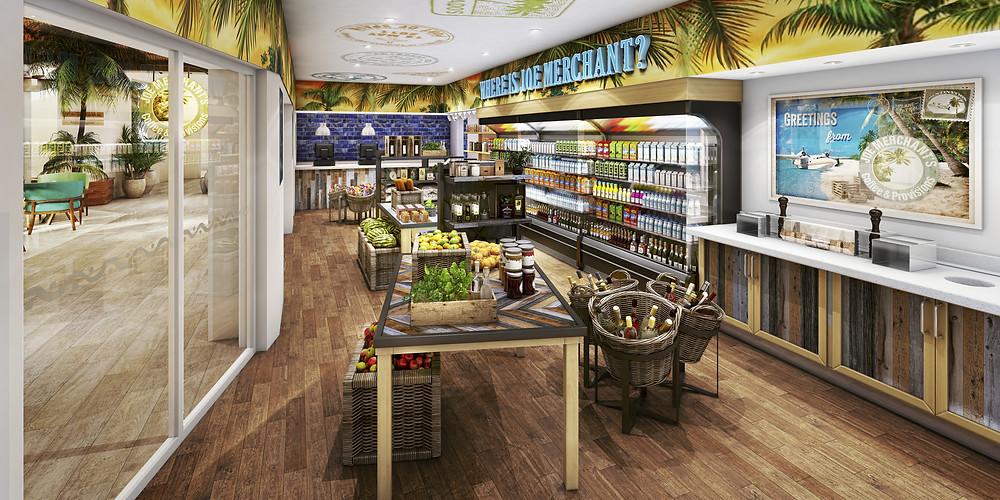 Joe Merchant's Coffee & Provisions, Margaritaville Island Reserve