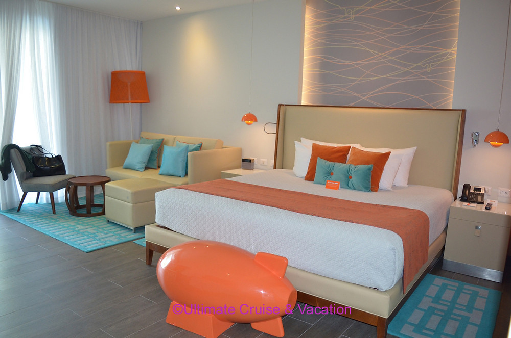 Suite interior, Nickelodeon Punta Cana