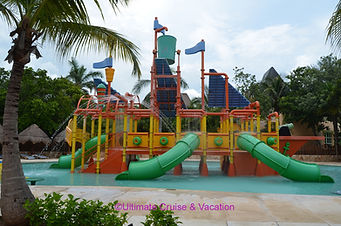 Kids water park, Iberostar Paraiso Maya