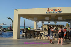 Dips & Sips pool bar, Hyatt Ziva Cancun