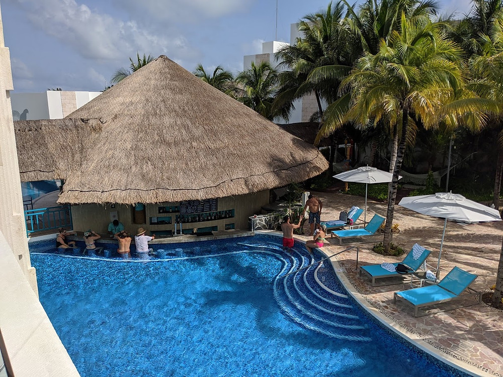 S.O.S Swim Bar (Stranded on a Sandbar) connects to Swim Up Suites
