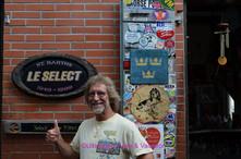 Jay French at le Select, St Barts