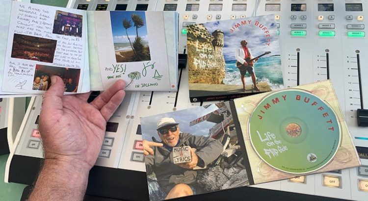 Life on the Flip side album packaging, by Jimmy Buffett & The coral Reefers