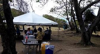 Windstar Cruises Beach BBQ, Pigeon Island St Lucia