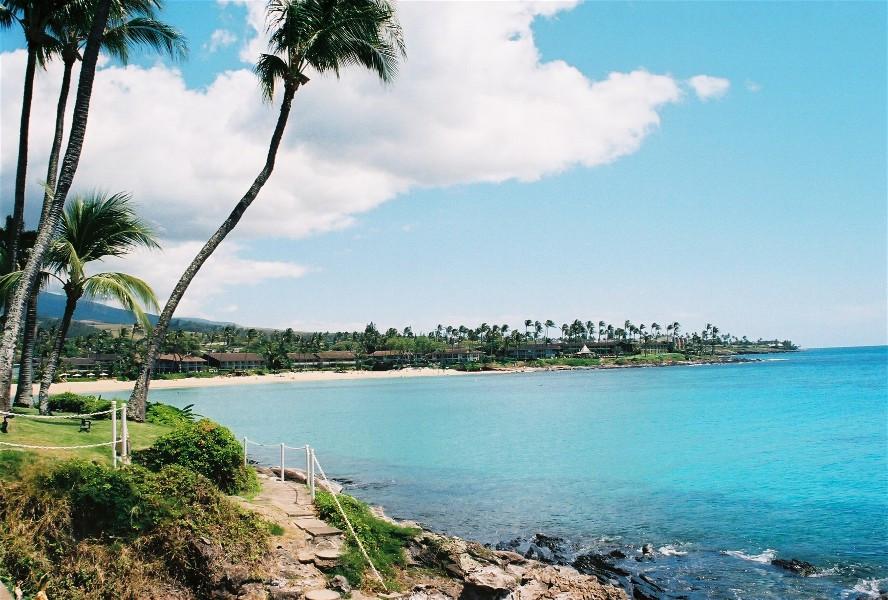 Napili and bay. Maui, Hawaii