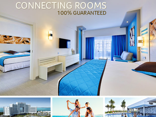 RIU NOW OFFERS CONNECTING ROOMS