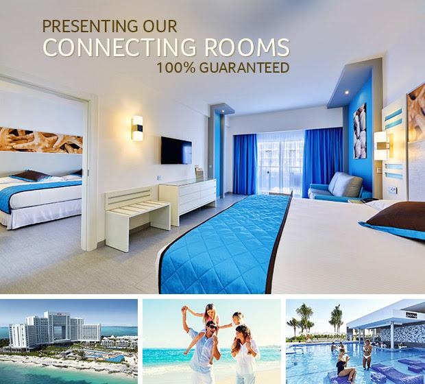 New Connecting Rooms at Riu Resorts